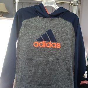 Addidas boys hooded sweatshirt